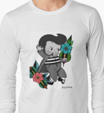 Elvis Kewpie Long Sleeve T-Shirt
