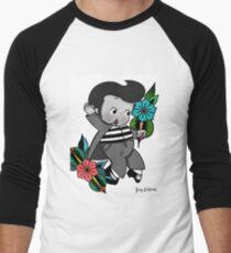 Elvis Kewpie Men's Baseball ¾ T-Shirt