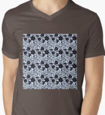 Mint Calla Lily Lavender Background Mens V-Neck T-Shirt