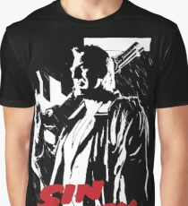 Sin City Marv Comic Frank Miller Graphic T-Shirt