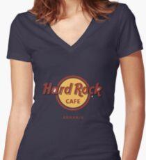 Hard Rock Cafe Dune Sci Fi Fantasy Women's Fitted V-Neck T-Shirt