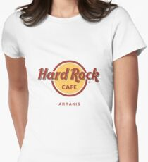 Hard Rock Cafe Dune Sci Fi Fantasy Womens Fitted T-Shirt