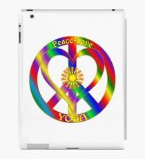 Peace Love Yoga iPad Case/Skin