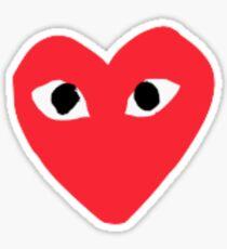 Heart Bape sticker Sticker