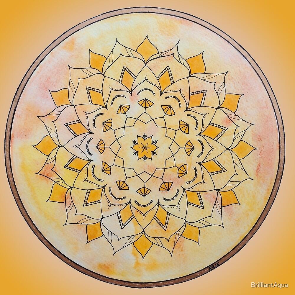 Sacral Chakra Mandala by BrilliantAqua