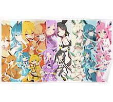 Pokemon Eevee Anime Poster