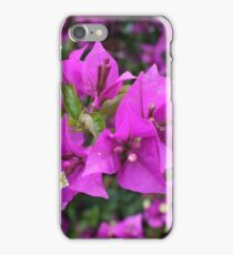 Lila Blumen iPhone Case/Skin