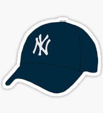 Yankees Hat Sticker