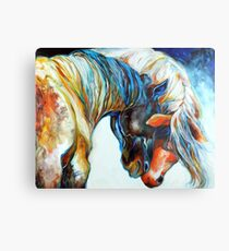 FRIENDS FOREVER EQUINE Metal Print