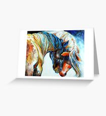 FRIENDS FOREVER EQUINE Greeting Card