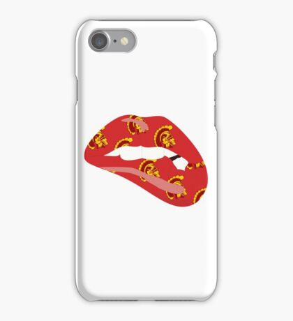 how to draw a iphone usc trojans iphone cases amp skins for 7 7 plus se 6s 6s 3374