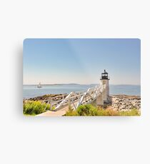 Marshall Point Lighthouse IV Metal Print