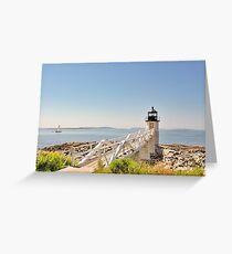 Marshall Point Lighthouse IV Greeting Card
