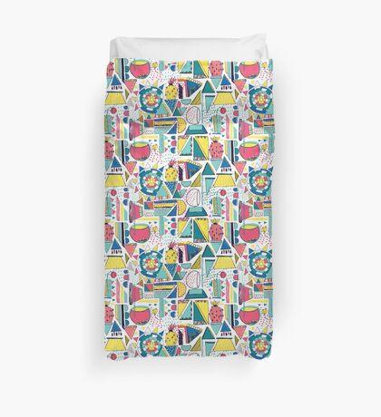 Modern Pop Art Duvet Cover
