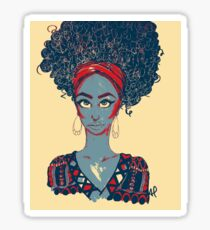 Black Woman Sticker