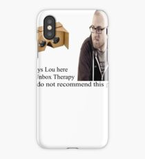 unbox therapy poor review iPhone Case/Skin