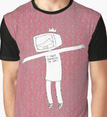 blahblahblah Graphic T-Shirt