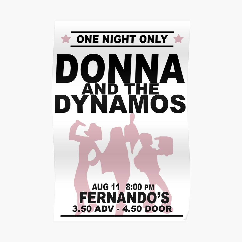 Donna and the Dynamos Poster