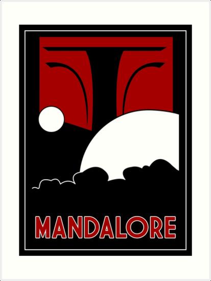 Mandalore Art Deco by Karlika
