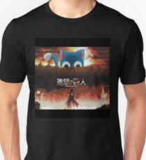 Camiseta unisex Ataque a Titán - Ataque a feliz
