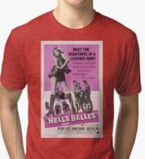 Hell's Belles (Pink) Tri-blend T-Shirt