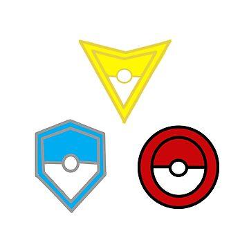 Pokemon Go- United Teams by AudrieB
