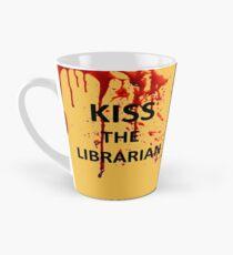 Spike's KISS THE LIBRARIAN Mug!  Tall Mug
