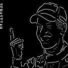 Vettel and The Finger by paulgodley
