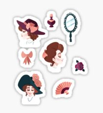 Edwardian Ladies Sticker
