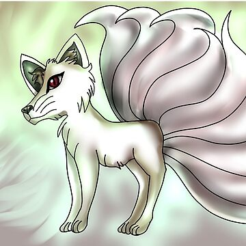 The Legendary White Fox-The Messenger Of Inari by TheVioletWitch