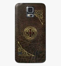 Celtic Leather Case/Skin for Samsung Galaxy