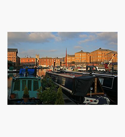 Gloucester Skyline Photographic Print