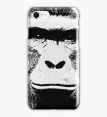 Harambe B/W iPhone Case/Skin