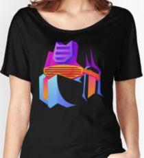 Retro Soundwave Women's Relaxed Fit T-Shirt