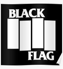 Black Flag Band Poster