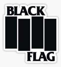 Black Flag Band Sticker