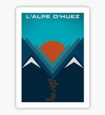 L'Alpe D'huez Sticker