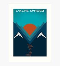 L'Alpe D'huez Art Print