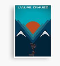 L'Alpe D'huez Canvas Print