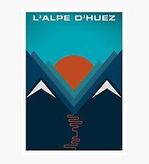 L'Alpe D'huez Photographic Print