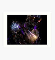 Alien Head VII VII Art Print