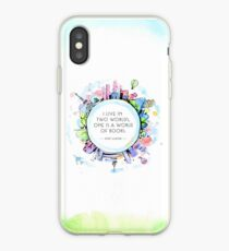 Rory Gilmore Bookish World iPhone Case