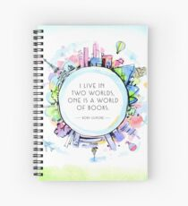 Rory Gilmore Bookish World Spiral Notebook