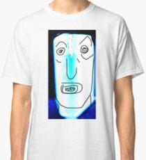 Flourescent Bookhead  Classic T-Shirt
