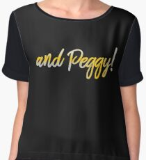 and peggy Women's Chiffon Top
