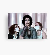 Rocky Horror Picture Show Art byScott Zambelli Canvas Print