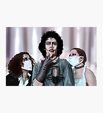Rocky Horror Picture Show Art byScott Zambelli Photographic Print