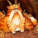 Cat Dragon by Whitney Mattila
