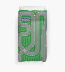 International Race Track - Perfect for Toy Cars! Duvet Cover