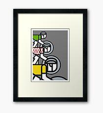 Peloton Framed Print